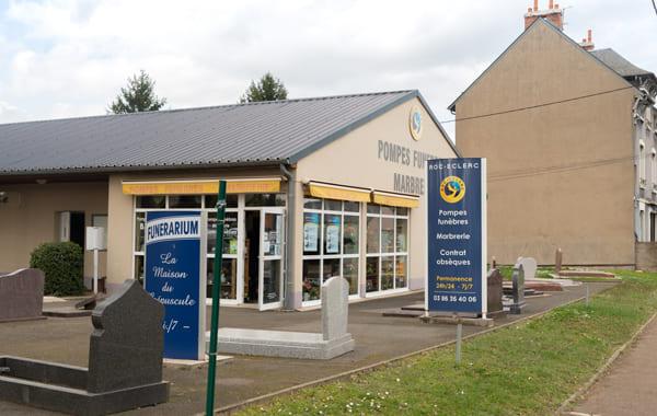 Pompes funèbres Bulot à Nevers - Nièvre (58)